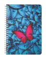 The Red Butterfly Notebook - Plain