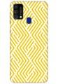 Yellow Geometric Pattern for Samsung Galaxy F41