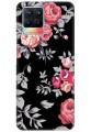 Black Floral for Realme 8 Pro