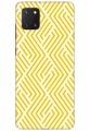 Yellow Geometric Pattern for Samsung Galaxy Note 10 Lite