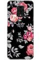 Black Floral for Redmi Note 9 Pro Max