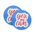 Yes You Can Coasters