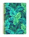 Tropical Rain Forest Leaves Notebook
