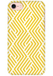 Yellow Geometric Pattern for Apple iPhone 7