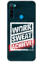 Work Sweat & Achieve for Redmi Note 8