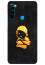 Yellow Hoodie Boy for Redmi Note 8