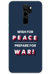 Wish For Peace – Prepare for War for Redmi Note 8 Pro