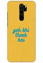 Yeh Bhi Theek Hai for Redmi Note 8 Pro