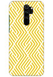 Yellow Geometric Pattern for Redmi Note 8 Pro