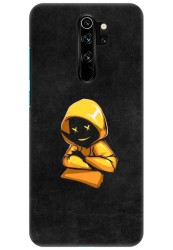 Yellow Hoodie Boy for Redmi Note 8 Pro