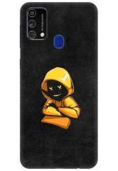 Yellow Hoodie Boy for Samsung Galaxy F41