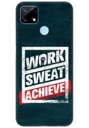 Work Sweat & Achieve for Realme narzo 20