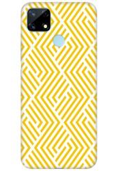 Yellow Geometric Pattern for Realme narzo 20