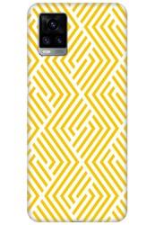 Yellow Geometric Pattern for Vivo V20 (2021)