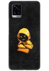 Yellow Hoodie Boy for Vivo V20 (2021)