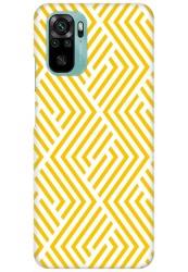 Yellow Geometric Pattern for Redmi Note 10