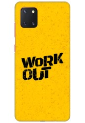 Work Out for Samsung Galaxy Note 10 Lite