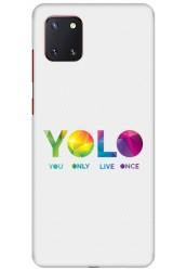 YOLO for Samsung Galaxy Note 10 Lite