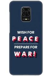 Wish For Peace – Prepare for War for Redmi Note 9 Pro Max