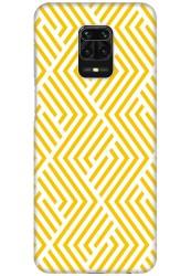 Yellow Geometric Pattern for Redmi Note 9 Pro Max