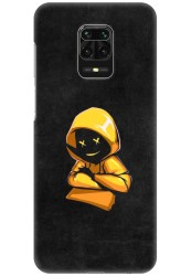 Yellow Hoodie Boy for Redmi Note 9 Pro Max