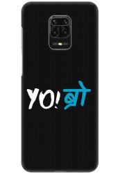 YO Bro for Redmi Note 9 Pro Max