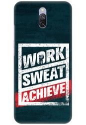 Work Sweat & Achieve for Redmi 8A Dual