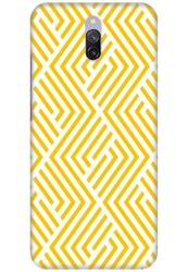 Yellow Geometric Pattern for Redmi 8A Dual