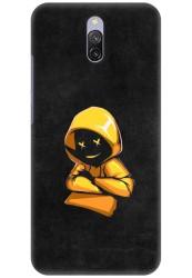 Yellow Hoodie Boy for Redmi 8A Dual