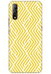 Yellow Geometric Pattern for Vivo S1