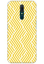 Yellow Geometric Pattern for OPPO F11