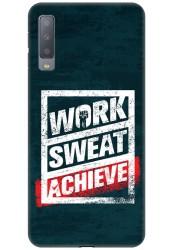 Work Sweat & Achieve for Samsung Galaxy A7 (2018)