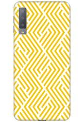 Yellow Geometric Pattern for Samsung Galaxy A7 (2018)