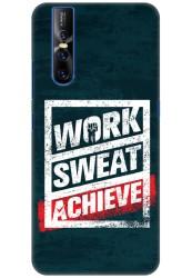 Work Sweat & Achieve for Vivo V15 Pro