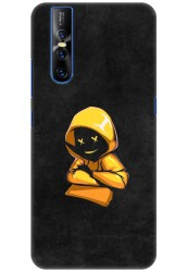Yellow Hoodie Boy for Vivo V15 Pro