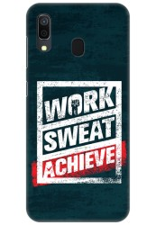 Work Sweat & Achieve for Samsung Galaxy A30