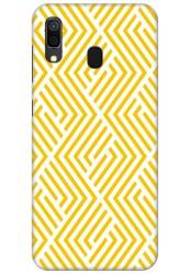 Yellow Geometric Pattern for Samsung Galaxy A30