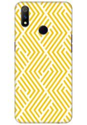 Yellow Geometric Pattern for Realme 3 Pro
