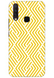 Yellow Geometric Pattern for Vivo Y15