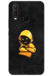 Yellow Hoodie Boy for Vivo Y15
