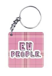 EW People Keychain