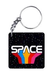 Space Rainbow Keychain