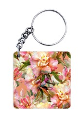 Blooming Flower Keychain
