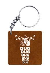 Dug Dug Dug Keychain