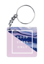 Good Vibes Only Keychain