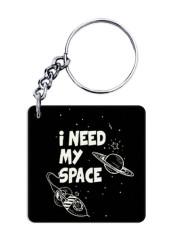 I Need My Space Keychain