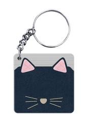Knit Cat Keychain