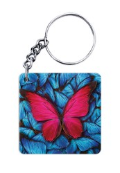 The Red Butterfly Keychain