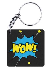 WOW Keychain
