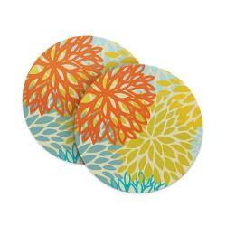 Flower Pattern Coasters